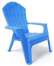 Plastic Baby Chair - Blue