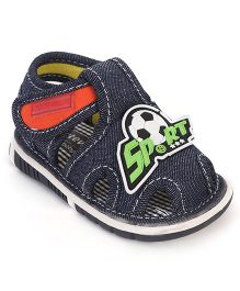 Cute Walk by Babyhug Sandals  Sport Applique - Blue