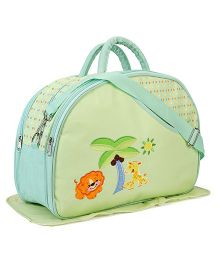 Diaper Bag Sunny Day Print - Green
