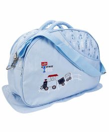 Diaper Bag With Changing Mat - Blue