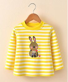 Pre Order - Awabox Rabbit Print Tee - Yellow