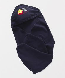 Simply Hooded Wrapper Car Patch - Navy Blue
