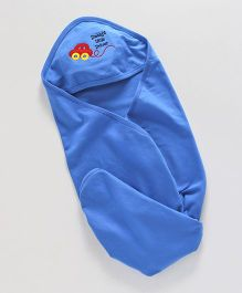 Simply Hooded Wrapper Car Patch - Royal Blue