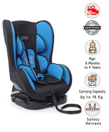 Babyhug Cruise Convertible Car Seat - Blue & Black