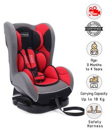 Babyhug Cruise Convertible Car Seat - Red & Black