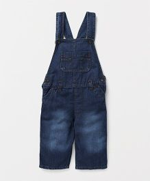 Eimoie Casual Denim Dungaree - Indigo