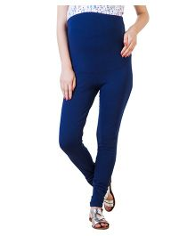 Blush 9 Maternity Leggings - Navy Blue