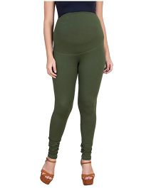 Blush 9 Maternity Leggings - Green