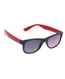Glucksman Classic Wayfarer Kids Sunglasses - Red