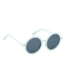 Glucksman Classic Round Kids Sunglasses - Light Blue