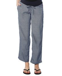 Nine Maternity Pajama Printed - Grey