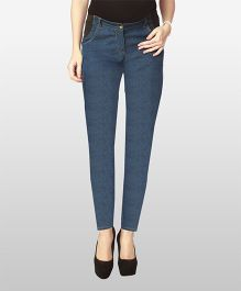 Nine Full Length Maternity Wear Jeans - Blue