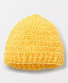 Knits & Knots Ridged Edge Cap - Yellow