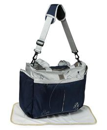 Mee Mee Mama's Bag With Changing Mat - Dark Blue