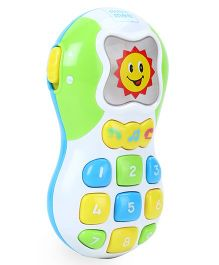 Mee Mee Musical Mobile Phone With Flashing Light - Multicolour