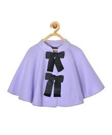 Pspeaches Jacket Stylish 2 Front Bows - Lilac