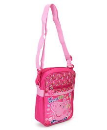 Peppa Pig Sling Bag Pink - Height 9 Inches