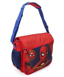Marvel Spiderman School Bag Red Blue - Height 11.81 inches