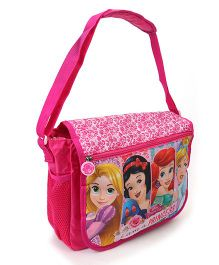 Disney School Bag Princess Print Pink - Height 11.81 inches
