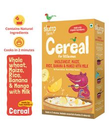 Slurrp Farm Multi Grain & Fruit Cereal - 200 gm