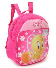 Tweety Plush Bag Pink - Height 11.81 inches
