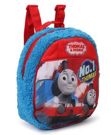 Thomas & Friends Plush Bag Blue Red - Height 11.81 Inches
