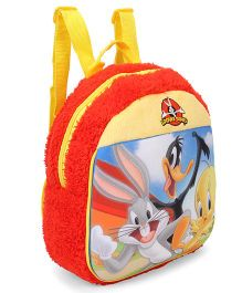 Looney Tunes Plush Bag With Adjustable Straps - Red