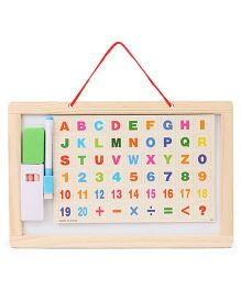 Smiles Creation Educational Cum Doodle Board - Multi Colour