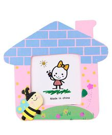 Photo Frame Bee Motif - Pink