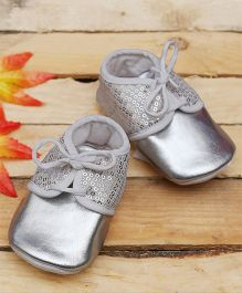 D'chica Bling Is In Booties - Silver