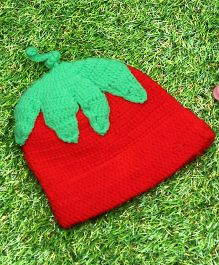 D'chica Colours Of The Season X-Mas Cap - Red