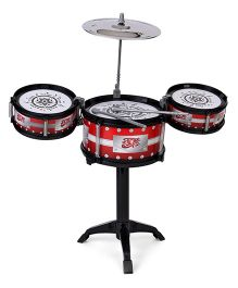 Playmate Flash Music Jazz Drum Set - Red