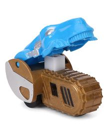 Playmate Push Car Toy Animal Shape - Blue