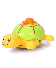 Toymaster Wind Up Toy Turtle - Green & Yellow