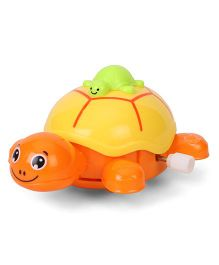 Toymaster Wind Up Toy Turtle - Orange & Yellow