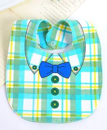 Little Hip Boutique Stripes Reversible Bow Bib - Multicolour