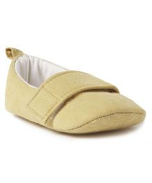 Ivee Anti Skid Soft Sole Booties - Cream