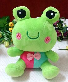 Skylofts Plush Frog Soft Toy Green - Height 24 cm