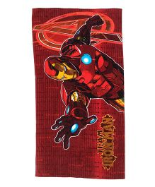 Marvel Iron Man Bath Towel - Red