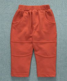 Zero Full Length Lounge Pants - Orange
