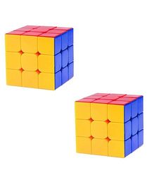 Emob Rubik Cube Yellow & Blue - Pack of 2