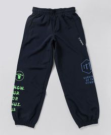 Reebok Full Length Track Pant - Navy Blue