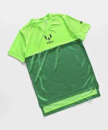 Adidas Half Sleeves Sports T-Shirt - Green