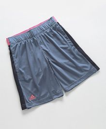 Adidas Solid Colour Shorts - Grey Black