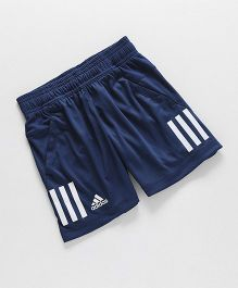 Adidas Casual Shorts With Logo - Blue