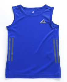 Adidas Sleeveless T-Shirt - Royal Blue