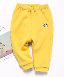 Pre Order - Awabox Dog Patch Pants - Yellow
