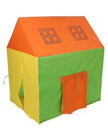 Awals Lucky Light House With Led Light - Green Yellow Orange