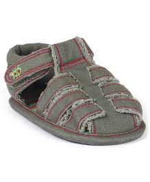 Mothercare Closed Toe Booties - Grey