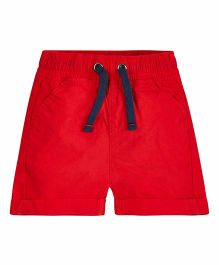 Mothercare Casual Poplin Shorts - Red